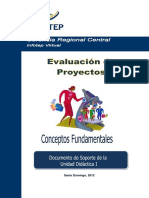 Evaluacion de Proyectos Guia Unidad 1
