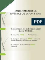 Turbinas a Vapor y Gas