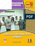 2008 Educacion y Descolonizacion