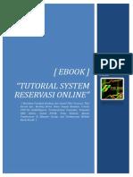 eBook-Tutorial System Reservasi Online