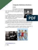 Referências Sobre Fotografia Publicitária