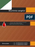 Biochimia sangelui