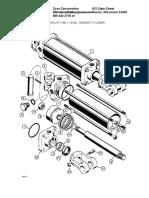 Sideshift Cylinder