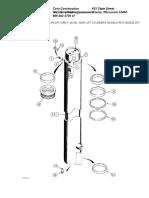 Mast Lift Cylinders%2c Models With Single Lift Cylinder Mast