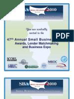 Illinois SBA Expo2010