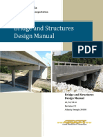 GDOT Bridge and Structures Policy Manual