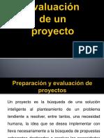 Evaluacion de Un Proyecto