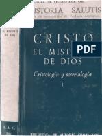 Cristo. El Misterio de Dios I. Cristología y Soteriología. González Gil, Manuel