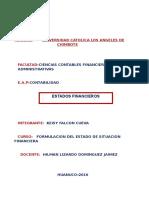 Investigacion Formativa III - Todo - Formulacion