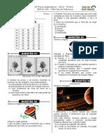 2ª P.D - 2012 (Ciências 5º Ano)