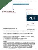 Revista Chilena de Nutrición - Los Hábitos Alimentarios en El Adulto Mayor y Su Relación Con Los Procesos Protectores y Deteriorantes en Salud