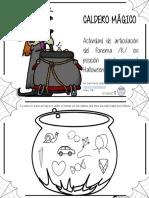 Caldero Mágico Articulacion Fonema k Posicion Inicial