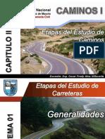 Cap II Tema 01 Generalidades