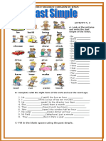 Simple Past Activity