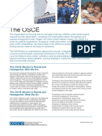 Osce Fact Sheet