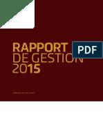 Chaîne El Aurassi RapportCA2015PDF
