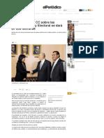 Respuesta de la CC sobre las reformas a la Ley Electoral se dará en dos semanas   elPeriódico de Guatemala