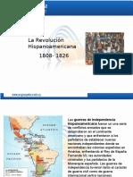 Revoluciones Hispanoamericanas