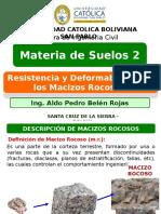 4 Resistencia y Deformabilidad de Los Macizos Rocosos.