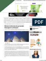 Misterul Efectului de Piramida