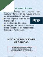 Clase 10 Reacciones Organicas PARTE II.