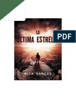 LA ULTIMA ESTRELLA RICK YANCEY.pdf