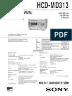 HCD-MD313
