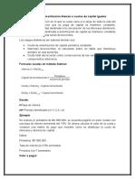 Sistema de Amortización Alemán y Francés
