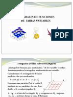 Integrales Dobles 2015-2016