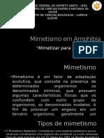 Mimetismo Em Amphibia