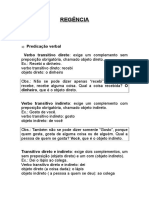 Portugues - Regencia - Resumo Mccursos