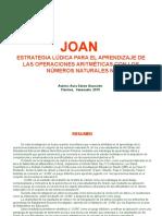 JOAN (Juguemos con las Operaciones Aritméticas en N)