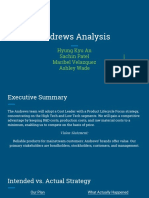 andrews analysis