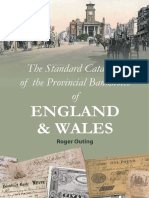 Standard Catalog of Provincial Banknotes of England & Wales