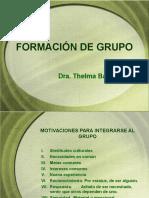 Formación de Grupo, en la dinámica grupal