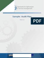 FitSM Sample Audit-Plan v1.0 (1)