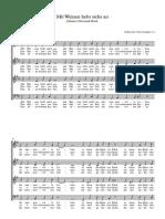 2. J. C. Bach - Mit Weinen Hebt Sichs an EDITION
