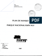 Plan Maejo Parque Nacional RapaNui