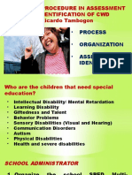 Assessment of Children with Disabilities