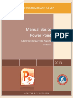 Manual Basico de Power Point 2013