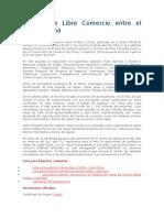 Tratado de Libre Comercio Entre El Perú y China