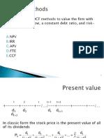 DCF Methods III p