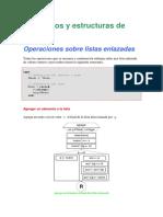 Operaciones Sobre Listas (Pascal)