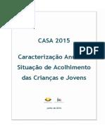 Relatório CASA 2015