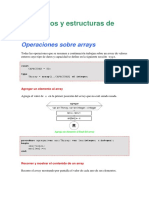 Operaciones Sobre Arrays (Pascal)