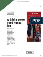 A Bíblia Como Você Nunca Leu _ Superinteressante