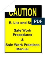 Litz Safe Work Procedures 2011