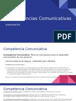 Presentacion Competencias Comunicativas