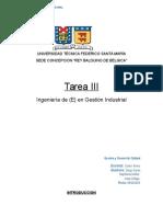 trabajo n° 3  gestion y control de calidad