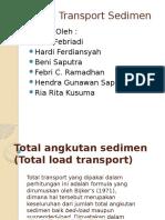 Total Angkutan Sedimen (Total Load Transport)
